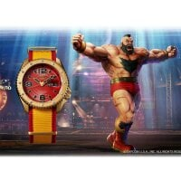 Seiko Uhr ZANGIEF - Street Fighter L.E. – SRPF24K1