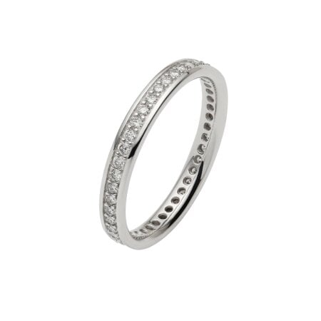 Juwelier Kraemer Ring Diamant 585/ - Gold – zus. ca. 0,45 ct – 57 mm