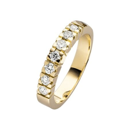 Juwelier Kraemer Ring Diamant 585/ - Gold – zus. ca. 0,50 ct – 56 mm