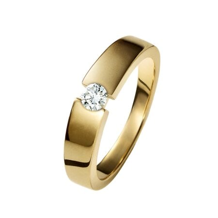 Juwelier Kraemer Ring Diamant 585/ - Gold – ca. 0,13 ct – 56 mm