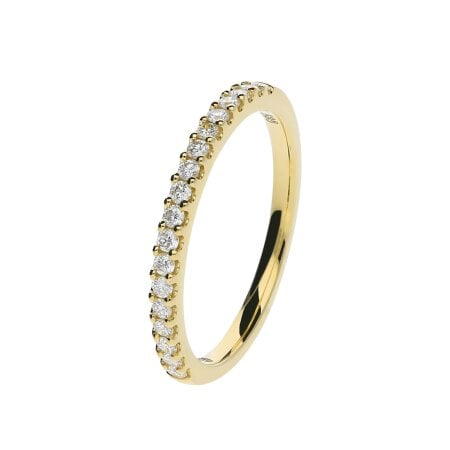 Juwelier Kraemer Ring Diamant 585/ - Gold – zus. ca. 0,25 ct – 56 mm