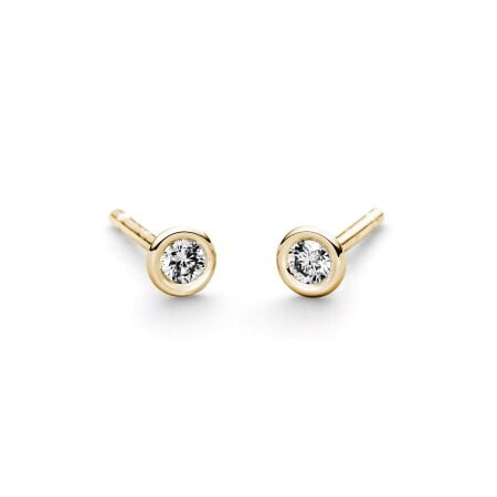 Juwelier Kraemer Ohrringe Diamant 585/ - Gold – 0,10 ct